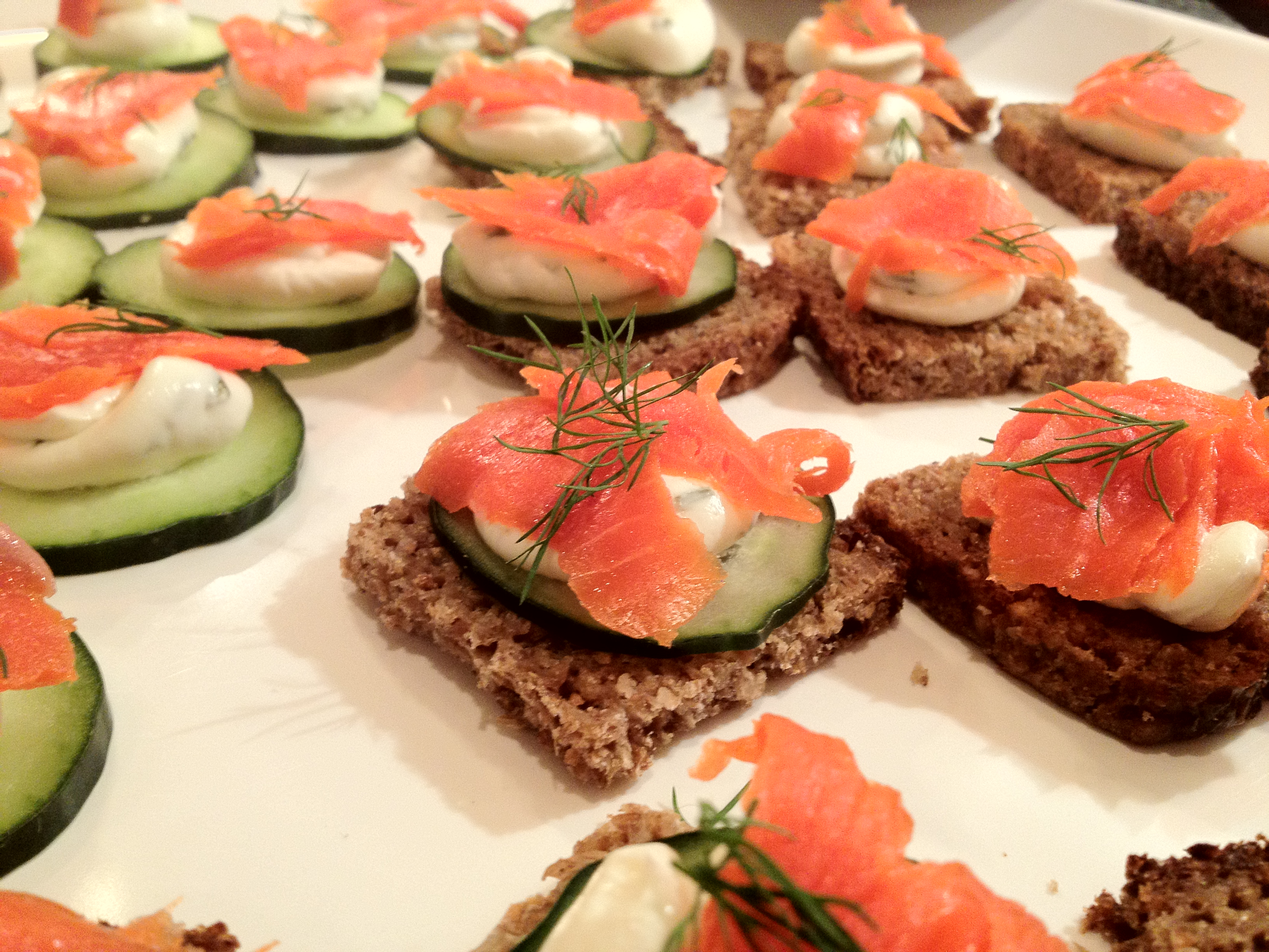 Smoked Salmon Canapes Recipes Images | Crazy Gallery